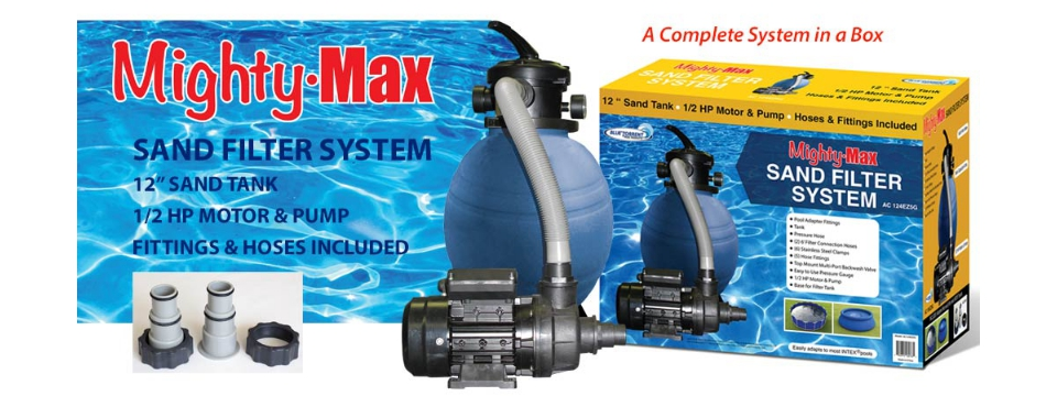 Blue Torrent / Complete Sand Filter Kit