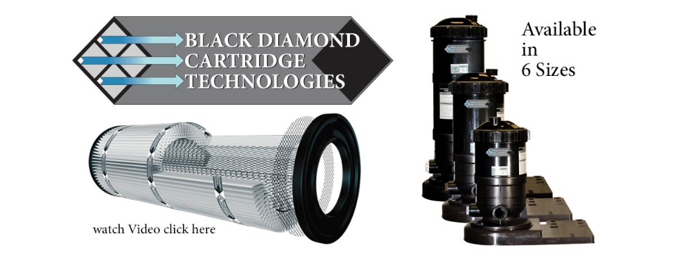 Blue Torrent / Black Diamond Cartridge Filter Systems