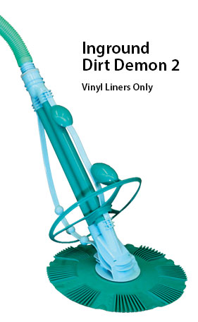 inground auto pool cleaner dirt demon 2