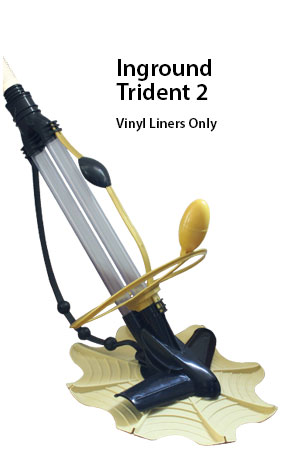 inground auto pool cleaner trident 2