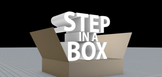 step in a box video link